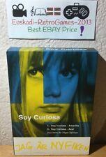 "Pack : ""SOY CURIOSA : Amarillo y Azul"" 2 DVD 1967 (Ultra Rare) Vilgot Sjöman"