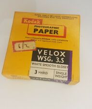 Kodak Velox Vintage Photographic Paper 100 Sheets 6.6x6.5cm New and Sealed