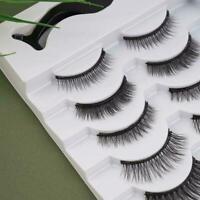 Magnetic Liquid Eyeliner False Eyelashes Tweezer Waterproof Kits Eye Lashes A3N8
