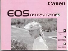 Vintage Camera Manuals and Guides for Canon