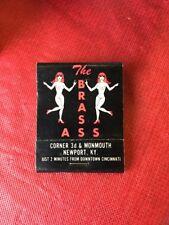 The Brass Ass Newport Kentucky Matches Matchbook Strip Club Larry Flynt