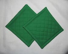 Green Quilted Coaster, Trivet,Pot Holders,Hot Pad - Set of 2