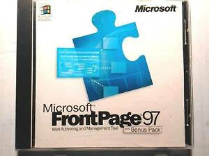 Microsoft FrontPage 97 with Bonus Pack Full Version with CD & Permanent License