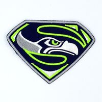 Seattle Seahawks [T] Iron on Patches Embroidered Patch Badge Applique Emblem FN