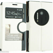 FOR NOKIA LUMIA 1020 LEATHER CASE COVER WALLET POUCH FLIP SLIM SKIN N1020 SW15