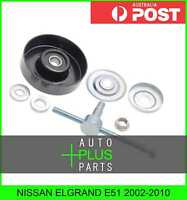 Fits NISSAN ELGRAND E51 2002-2010 - Idler Tensioner Drive Belt Bearing Pulley