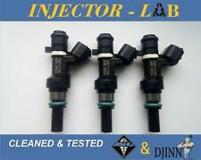 NISSAN MICRA K13 NOTE INJECTORS  FBY11H0 set of 3 CLEANED&TESTED