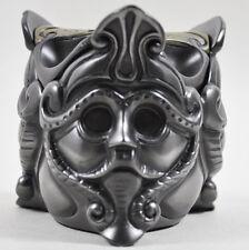 Celtic Patterned Trinket Box Trinity Face Design Cold Cast Bronze H8cm NEW 16024