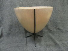 KIMBALL MFG CO MID CENTURY MODERN FIBERGLASS BULLET PLANTER LARGE 15 X 16 INCHES