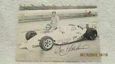 Autographed Signed Photo Gary Bettenhausen Auto Racing Driver Indy 500 & NASCAR