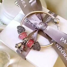Luxurious Gift Pandora Season Bangle Set With Whole Gift Package (E)-21cm