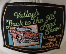 Valley's Back to the 50's Food Show Cap Hat Oct 18 1988 Part 2 Norfolk Scope VA