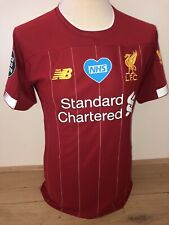 Mo Salah Liverpool BLM Match Worn Issued player shirt 19/20 jersey Egypt trikot