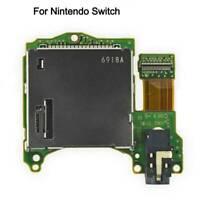 for Nintendo Switch Game Cartridge Card Slot Reader Tray Headphones Jack Port x1