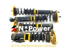 SYC ADJUSTABLE DAMPER COILOVERS F&R SET FOR NISSAN SILVIA S14 S15 200SX 94-03
