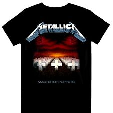 Metallica - Master Of Puppets Tracks Official Licensed T-Shirt