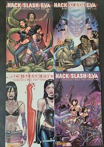 HACK / SLASH LOT OF 7 ISSUES DDP/IMAGE COMICS EVA! FULL MONSTER'S BALL #1-4!