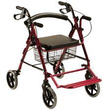 Andador rollator y silla de ruedas ... frenos, cesta y asiento QA-00380/14