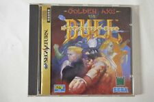 Sega Saturn Golden AXE the Duel Japan SS