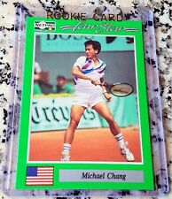MICHAEL CHANG 1991 Netpro SP Rookie Card RC Tennis Legend $$$ HOF Grand Slam $$$