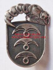 Insigne CATERPILLAR CLUB PARA US WWII PARACHUTISTE ARGENT STERLING ORIGINAL AIR