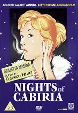 NIGHTS OF CABIRIA - DVD - REGION 2 UK