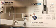 Moen Sarai model 87836SRS Stainless Steel Pull Down Spray Kitchen Faucet