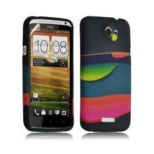 Housse coque étui gel pour HTC One X motif LM04 + Film protecteur
