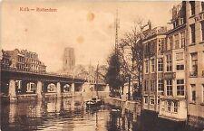 Netherlands Holland postcard Rotterdam Kolk
