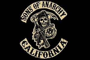 Sons Of Anarchy Logo poster (24x36 inches)