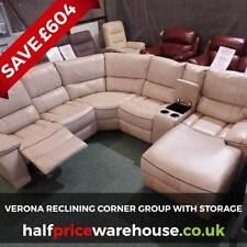 leather sofas with storage for sale ebay rh ebay co uk
