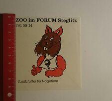 Pegatina/sticker: zoo en el foro Steglitz adicional forraje para (201116115)