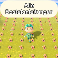 Alle 640 Bastelanleitungen | Animal Crossing New Horizons  | Rezepte Ver. 1.8.0
