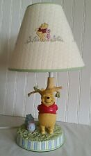 Winnie The Pooh By A.A Milne & E.H. Shepard Lamp Disney Store Quilted Shade