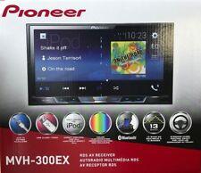 "Pioneer - MVH-300EX - 2-DIN Multimedia Receiver w/ 7"" Touchscreen Display, BT"