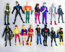 Lot 15 DC Young Justice League Batgirl Joker Nightwing Starfire Aquaman Figure