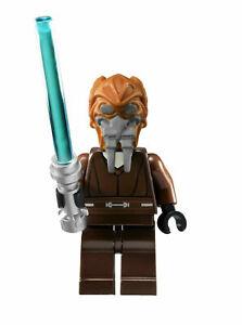 Lego Star Wars Minifigure Plo Koon Jedi & Lightsaber 8093 7676 **New** **Rare**