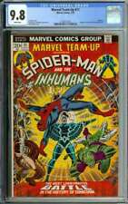 MARVEL TEAM-UP #11 CGC 9.8 WHITE PAGES // AVENGERS + KANG APPEARANCE 1973