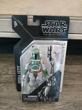 "Star Wars The Black Series Archive 2013~~~~Boba Fett 6"" Action Figure~~~~NIP"