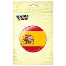 Spain National Country Flag Pinback Button Pin Badge