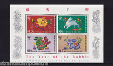 Hong Kong - 1987 Year Of The Rabbit - U/M - SG MS533