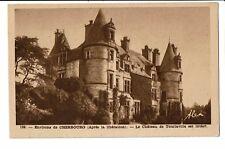 CPA-Carte postale -FRANCE Cherbourg - Château de Tourlaville  S3820