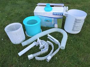 INTEX Oberflächenskimmer DELUXE Skimmer Easy & Frame 28000 Pool , (K)