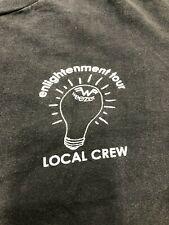 Vintage T Shirt - Weezer Enlightenment Tour Local Crew Xl Eygnus 2002 Black