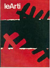LE ARTI N. 1 GENNAIO 1975  MENSILE ARTE SHWARZ-DUCHAMP BROCCA SILVESTRI MURRI