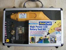 ROBBE RotaCraft 230V MIni LCD Bohrmaschine mit 100 tlg. Zubehör