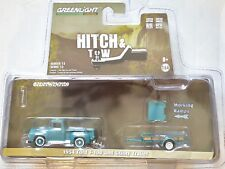 GREENLIGHT 2018 HITCH & TOW 1954 FORD F-100 AND UTILITY TRAILER
