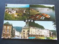 22 - SPA CASINO KURSAAL EGLISE RUE DU MARCHE PLACE ROYALE - POSTCARD