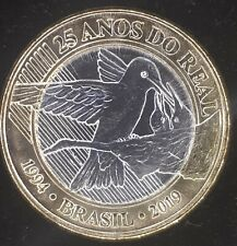25 years of Real - Brazil 2019 Commemorative coin