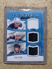 11-12 UD Artifacts Tundra Trios Jersey FILATOV / VORACEK / BRASSARD /149